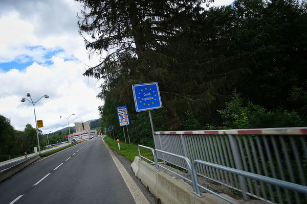 the Czech border