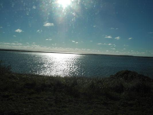 Und wieder Lagunen: