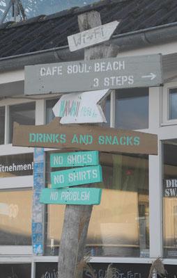 ... da nützt auch ein geschlossenes Café nix