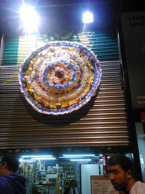 ein Origami-Mandala gefaltet von der katalanischen Küntlerin Judith Themistanjioglus Chaler