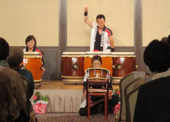 近江葦海太鼓のソロ演奏
