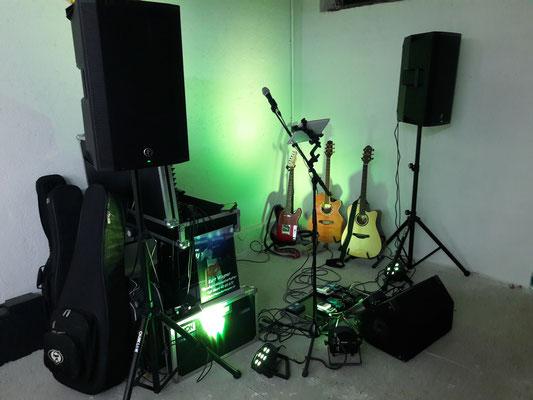 Bühnenbild von Privater Geburtstagsfeier