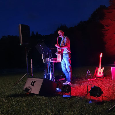Open Air Konzert beim Badebuffet in Pulkau