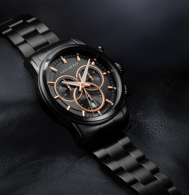 Herrenuhr Full-Black