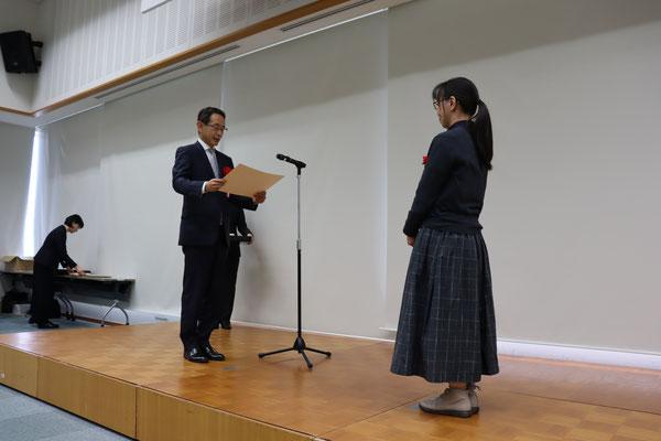 特別賞 ・東京センチュリー賞の贈呈