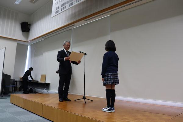 特別賞・京セラ賞の贈呈