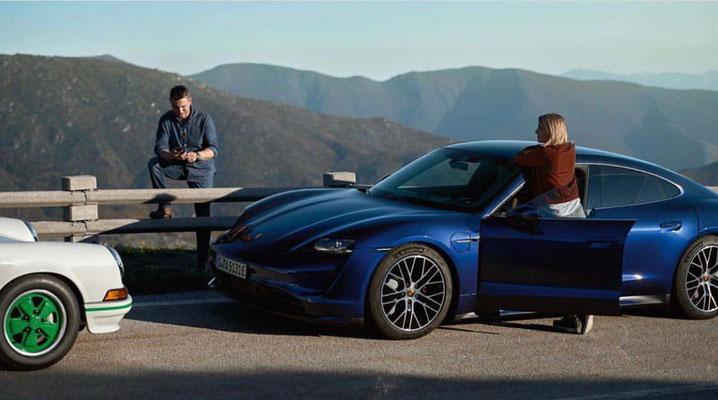 Porsche Taycan shooting / Uwe Mansshardt