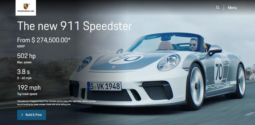 Uwe Mansshardt/ Porsche Speedster