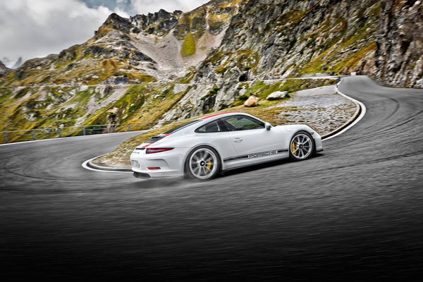 Uwe Mansshardt / Porsche 911R