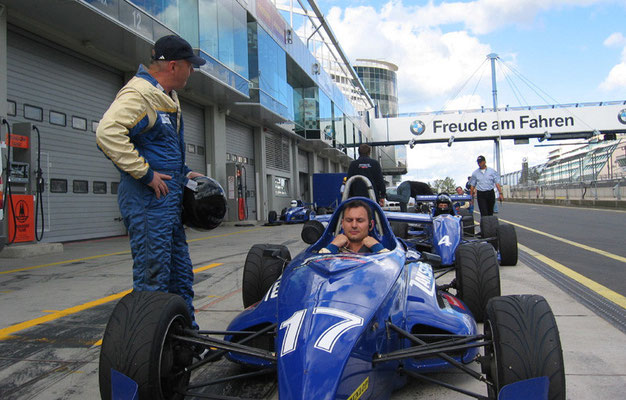 Uwe Mansshardt / Zackspeed Nürburgring