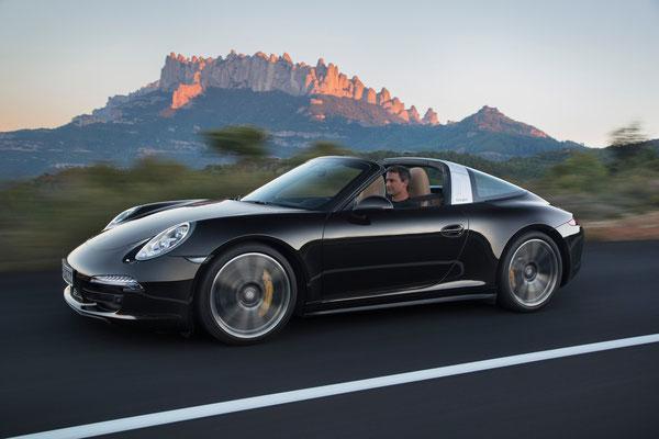 Uwe Mansshardt / Porsche targa