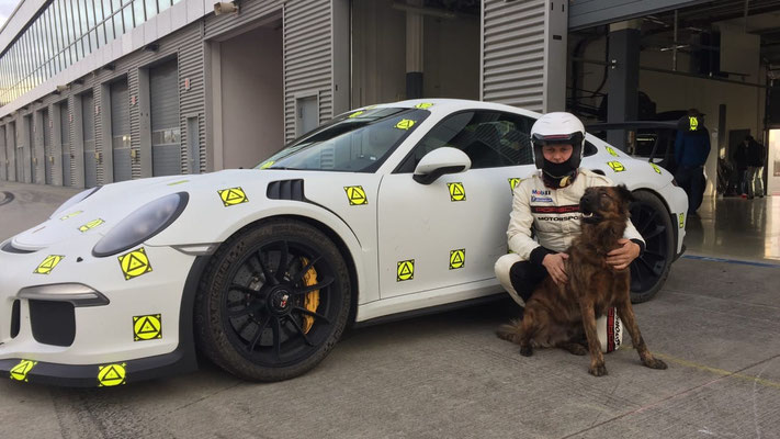 Porsche GT3 / Uwe Mansshardt and his love Aaron