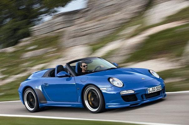 Uwe Mansshardt / Porsche 911 Speedster