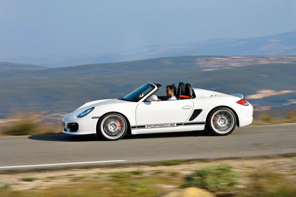 Uwe Mansshardt / Porsche Boxster Spyder