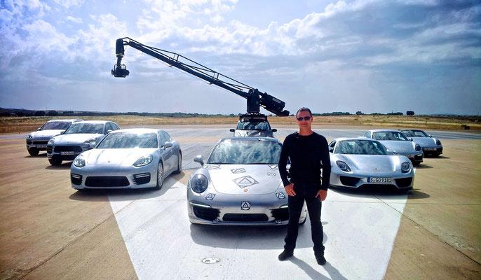 Uwe Mansshardt / Porsche line up