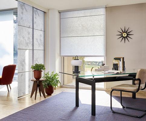 Als Raumteiler oder Sonnenschutz am Fenster - Papierähnliche Materialen filtern das Sonnenlicht