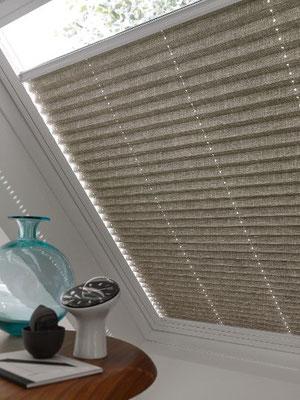 Der Alleskönner im Dachfenster- Plissee Verdunklung