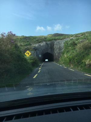 Es gibt auch in Irland Tunnels