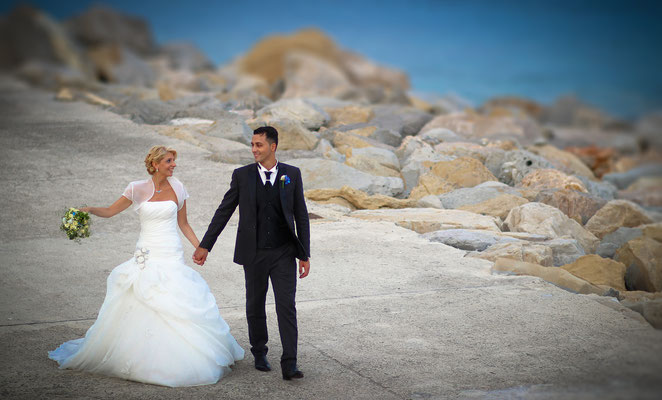 MCWED Foto e Video fotografo matrimonio Bordighera - al mare