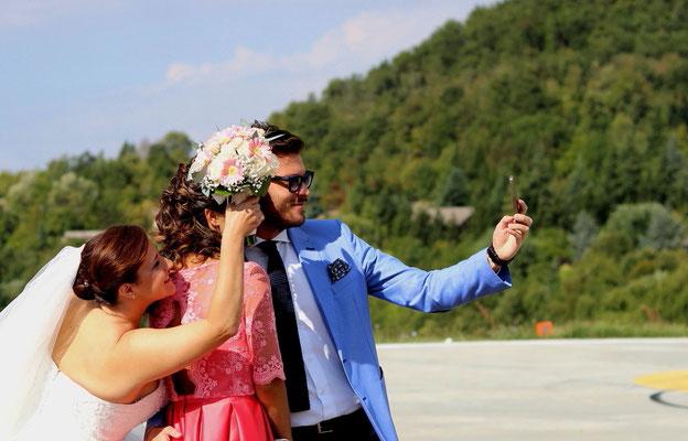MCWED Foto e Video Fotografo Pavia selfie