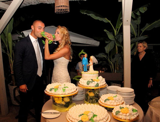 MCWED Foto e Video Fotografo Matrimonio Bordighera torta nunziale