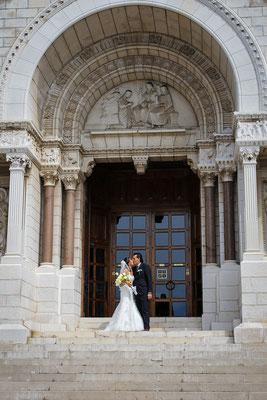 Fotografo Matrimonio Montecarlo basilica