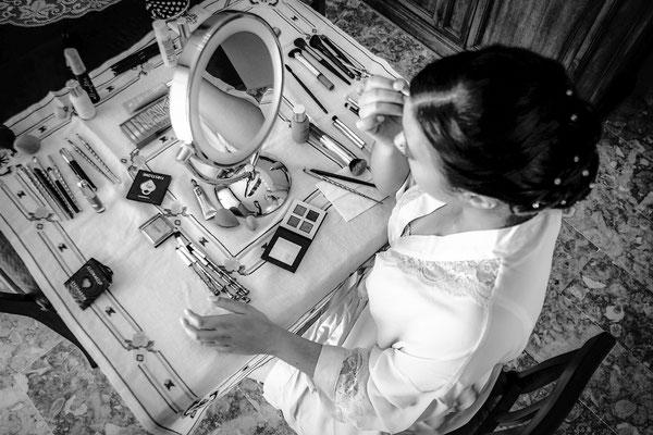 Fotografo Matrimonio Sanremo trucco sposa