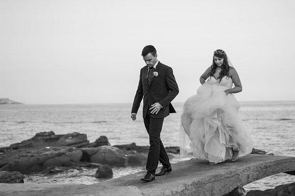 MCWED Foto e Video Fotografo Matrimonio Bordighera  mare