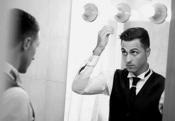 MCWED Foto e Video Fotografo Matrimonio Bordighera preparativi sposo
