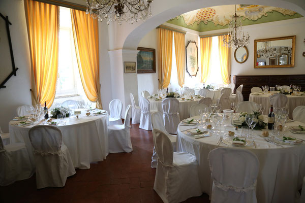 MCWED Foto e Video fotografo matrimonio Pavia: interno sala riceviento