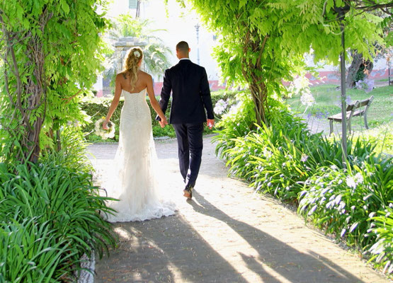 MCWED Foto e Video Fotografo Matrimonio Bordighera giardini