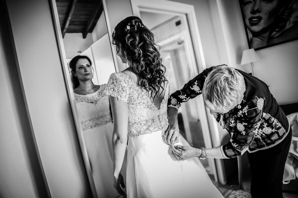 MCWED Foto e Video fotografo matrimonio Pavia: preparativi sposa