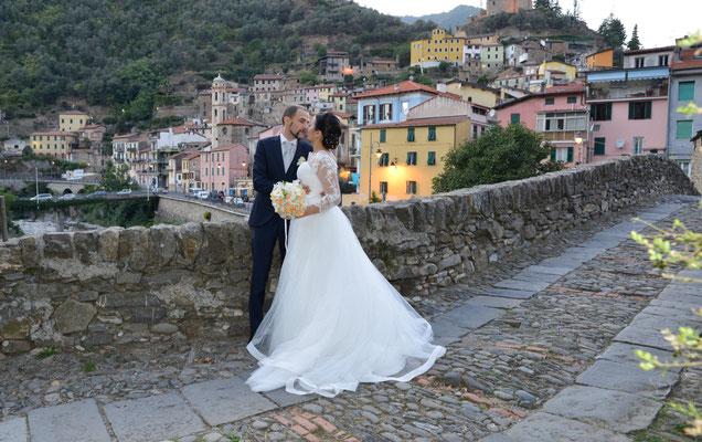 Sanremo fotografo e video per matrimonio sposi