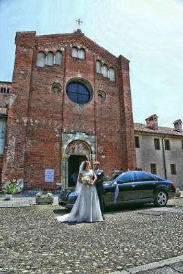 MCWED Foto e Video fotografo matrimonio Pavia: chiesa San Lanfranco Pavia