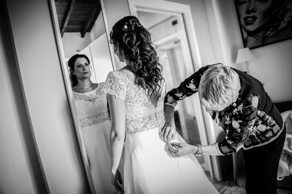 Sanremo fotografo matrimonio preparativi sposa