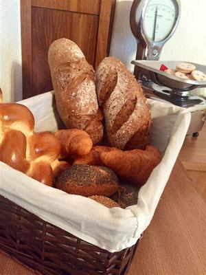 Brotauswahl zum Frühstück