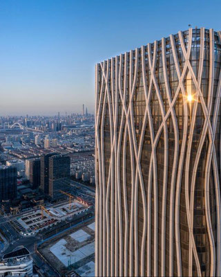 5. Platz: Qiantan Center in Shanghai, China. Copyright: Rex Zou