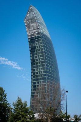 4. Platz:  Libeskind Tower in Mailand, Italien. Copyright: Alberto Fanelli