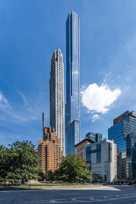 8. Platz: Central Park Tower in New York City, USA. Copyright: Royce Douglas