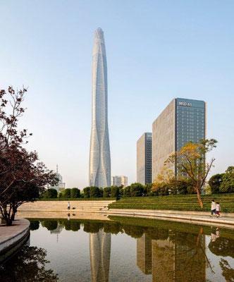 Tianjin CTF Finance Center in Tianjin, China. Copyright: Seth Powers