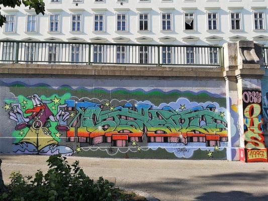 Donaukanal-Ostufer, Wien. © 2019 Reinhard A. Sudy