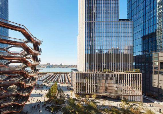 35 Hudson Yards in New York City, USA. Copyright: Dave Burk_Courtesy SOM