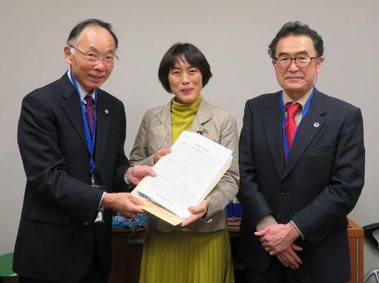 日本共産党田村智子参議院議員