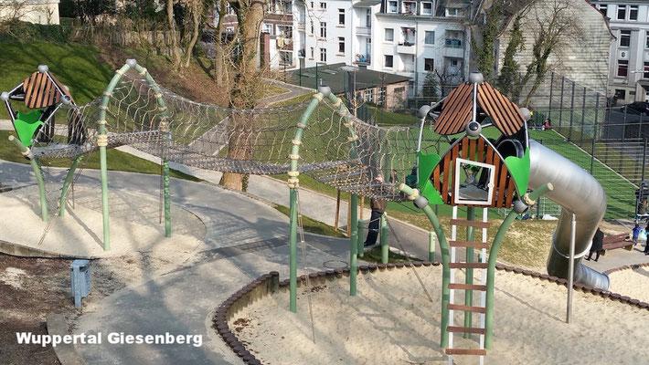 """Der Spielplatz """"Giesenberg"""" in Wichlinghausen"""