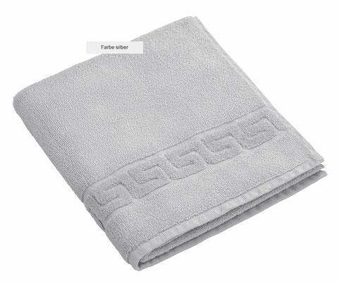 Handtuch DREAMFLOOR von WESETA - silber