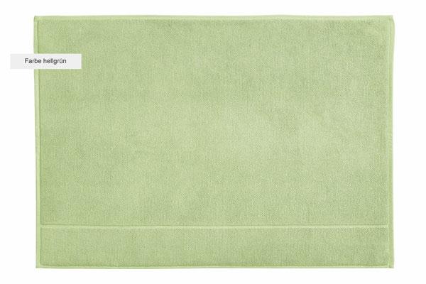 Duschvorleger DOUCEUR von WESETA - hellgrün