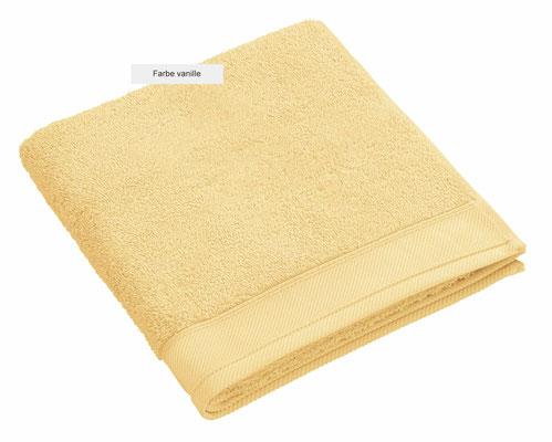 Handtuch DOUCEUR von WESETA - vanille