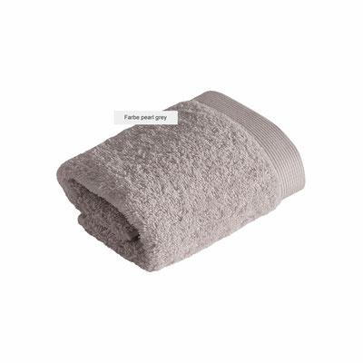 Duschtücher HIGH LINE von Vossen - pearl grey