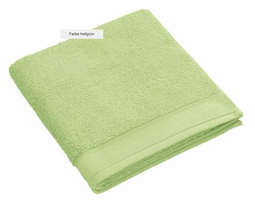 Handtuch DOUCEUR von WESETA - hellgrün