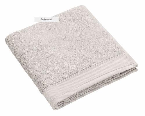 Handtuch DOUCEUR von WESETA - sand